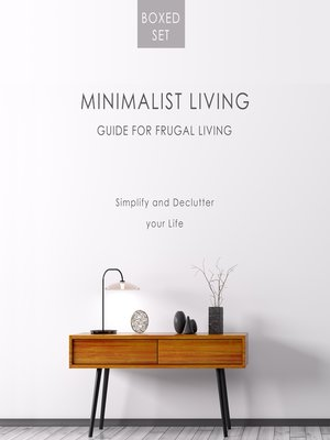 cover image of Minimalist Living Guide for Frugal Living